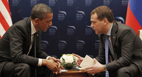 Collusion: Former ambassador sheds light on famed Obama-Putin open-mic exchange