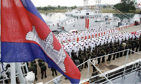 Report: China and Cambodia sign secret pact for military base