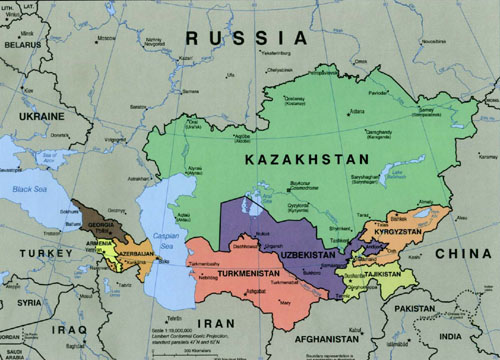 Central Asia: China's advances seen testing strategic alliance with Russia