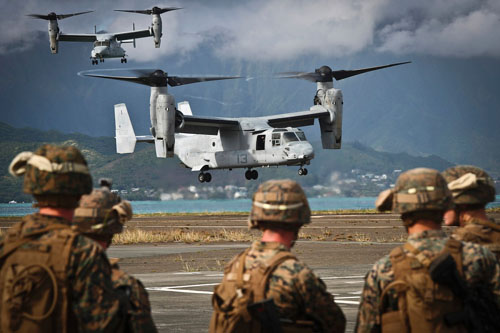 U.S. Marines distributing Pacific forces to complicate Chinese targeting