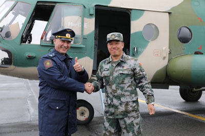 China joins Russia's Tsentr-2019 military exercise