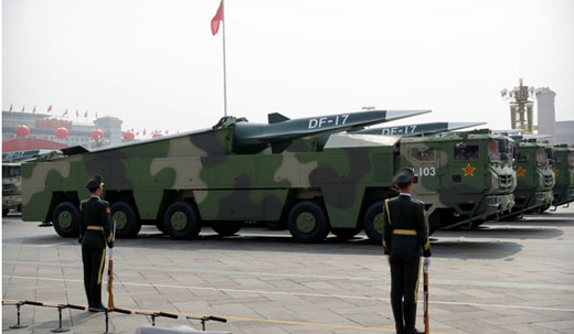 Chinese Communist Party marks 70th with 'assassin's mace', the DF-17