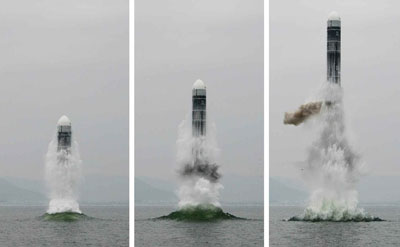 North Korea's ballistic missile sub tech may have come from China via Pakistan