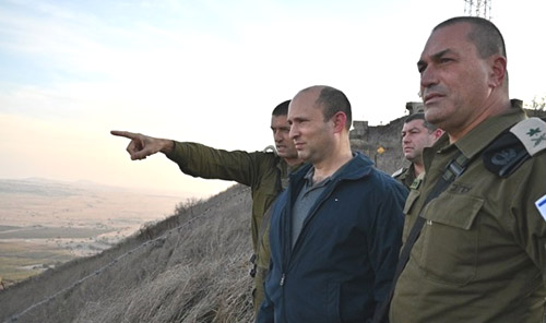 Netanyahu, Bennett deliver warning to Iran on visit to northern command