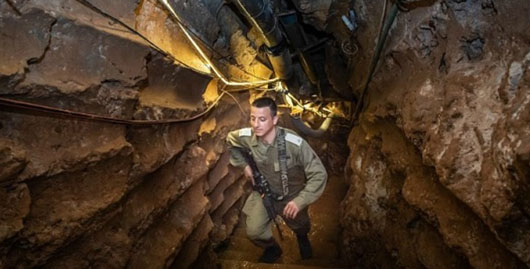 Tunnel terrorism is here to stay, Israeli commander warns