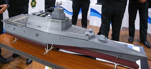 Iran reveals new missile frigate concept