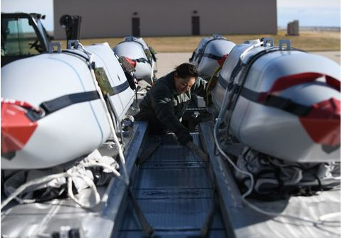 U.S. Air Force developing precision-guided, thinking weapons