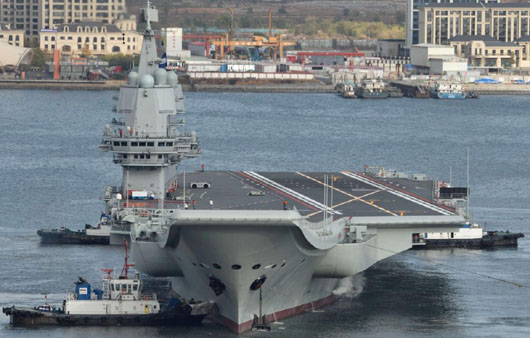 'No skid marks': China's new carrier called 'show' platform