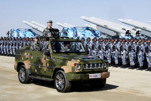 China's military industry soars to Number 2 in world