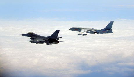 In back-to-back drills, China exercises aerial blockade of Taiwan