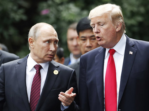 Trump policy on Russia: Speak softly, change the game