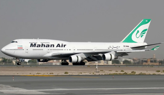 Report: Iran airline flew between China and throughout Mideast despite restrictions