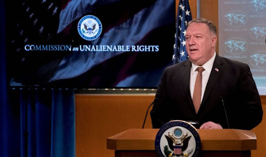 Pompeo expands on Trump's new tough policy on China