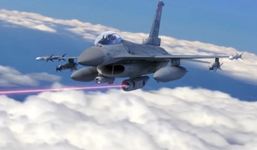 Laser weapons could be option for Taiwan's new F-16s