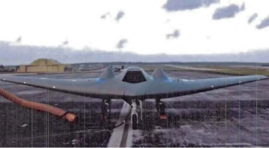U.S. electronic warfare exercise combined stealth aircraft with RQ-170 drone