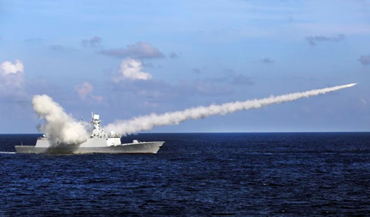 As U.S. punishes militarization of South China Sea, China test-fires 'carrier-killers'