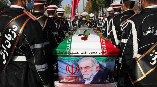 Iran also blames U.S. after 'father' of nuclear program killed in 'complex' operation