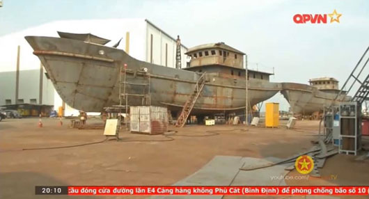 Vietnam builds 100 steel-hull ships for 'fishing militia' to counter China's