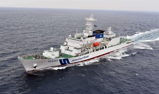 Chinese ships entered Japan's contiguous zone 333 days in 2020