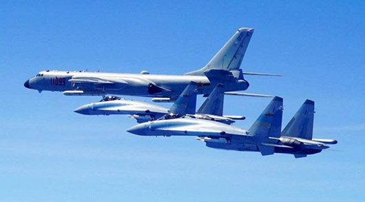 China and Russia conduct largest bomber exercise to date over Sea of Japan