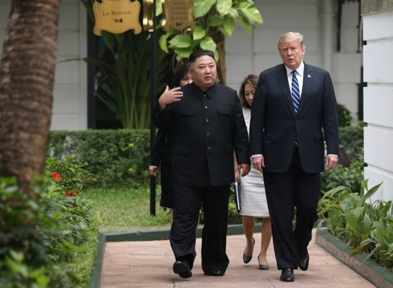 Kim turned down trip on Air Force One; Reportedly expanding work camps