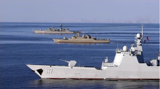 Iran, China and Russia to hold second trilateral naval exercise