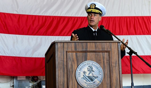 Pacific Fleet commander warns China expanding buildup at 'alarming rate'