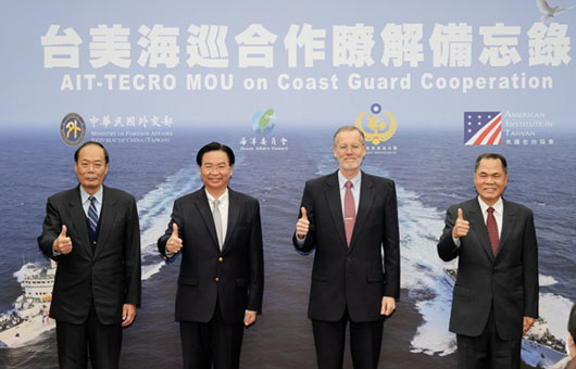Taiwan wanted long range missiles, wins better cooperation with U.S. Coast Guard