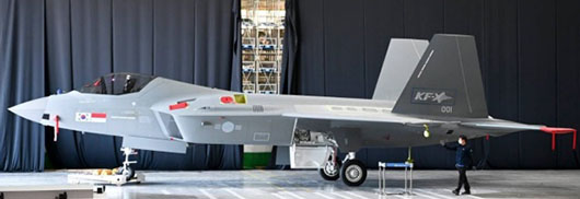 South Korea and China reveal new stealth fighters