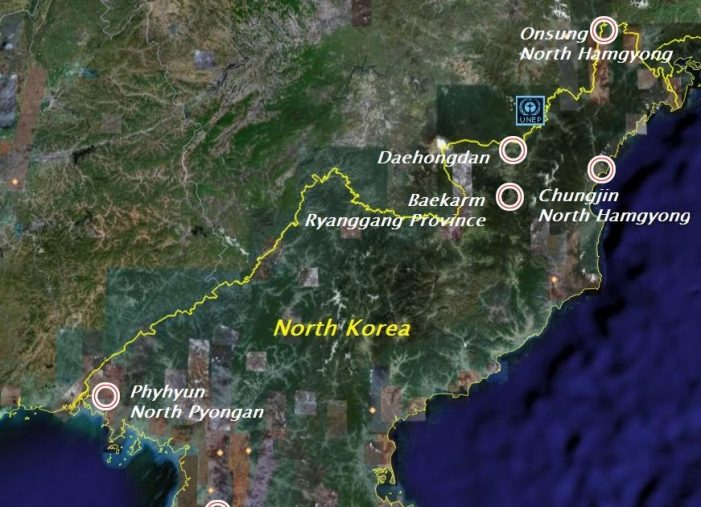 Kim reportedly building electrified barriers on border with China