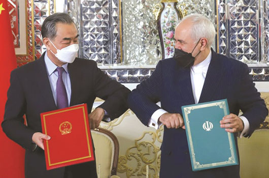 China exploits its own Iran deal to claim role as post-U.S. peace broker