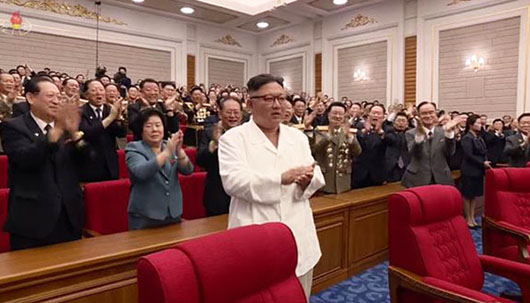 North Korean state media capitalizes on Kim's weight loss