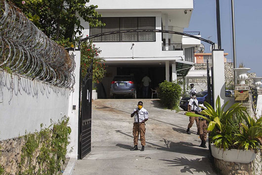 Suspects in Haiti assassination broke into Taiwan embassy one day later