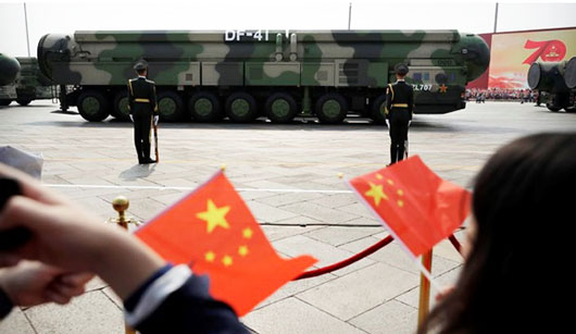 'Explosive' expansion of China's nuclear forces alarms U.S. Strategic Command