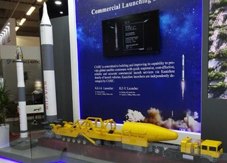 China's space launcher production could be second source for ICBMs