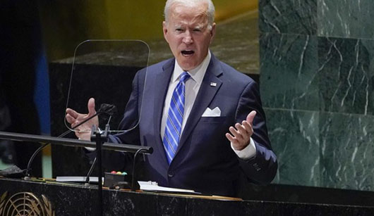 Biden's UN speech sets new policy backing China's interests