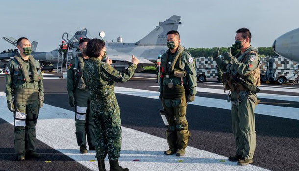 China calls Taiwan escalation an 'unmistakable declaration of sovereignty'
