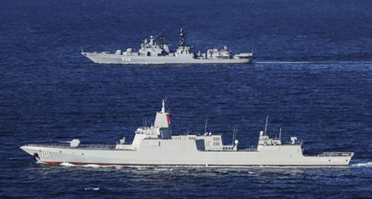 Joint China-Russia naval exercise in Tsugaru Strait targets Japan despite risks